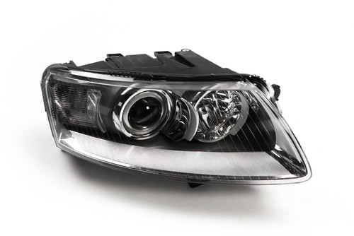 Headlight right xenon Audi A6 04-08