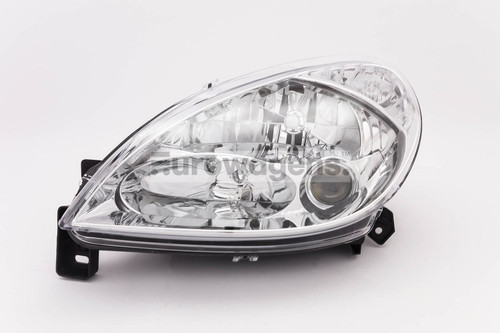 Headlight left with fog light Citroen Xsara 01-04