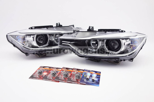 Headlight set with bulbs Osram Night Breaker Laser Xenon Look BMW 3 Series F30 F31 12-15