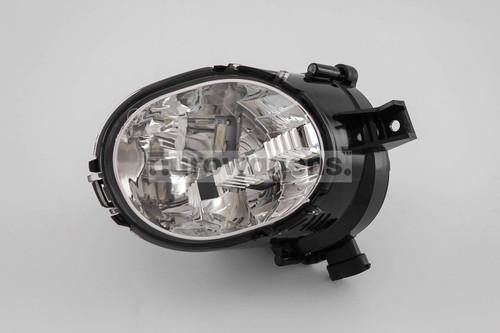 Daytime running light LED with fog light left Volvo XC70 13-