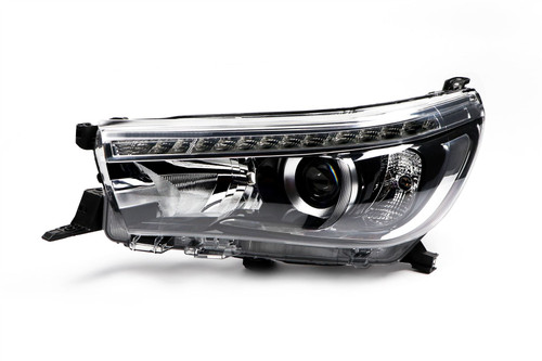 Headlight left LED DRL Toyota Hilux MK8 Pickup 15-17