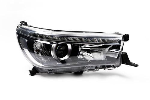 Headlight right LED DRL Toyota Hilux MK8 Pickup 15-17