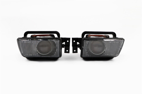Fog lights set black BMW 5 Series E34 87-96