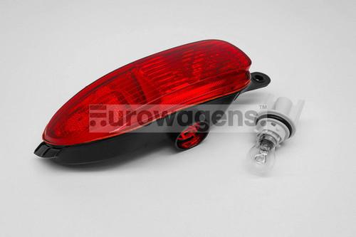 Rear fog light left with bulb and holder Vauxhall Corsa C 00-03