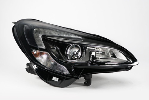 Headlight right bi-xenon LED DRL Vauxhall Corsa E 15-19