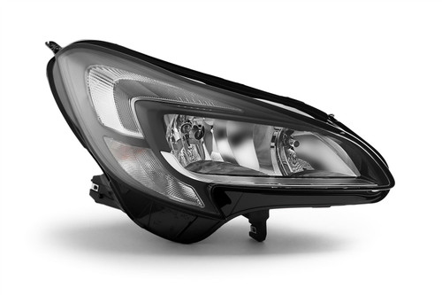 Headlight right DRL Vauxhall Corsa E 15-19 Hella