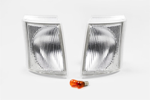 Front indicators set clear Ford Transit 92-00
