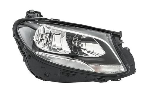 Headlight right LED DRL Mercedes E Class W213 16-