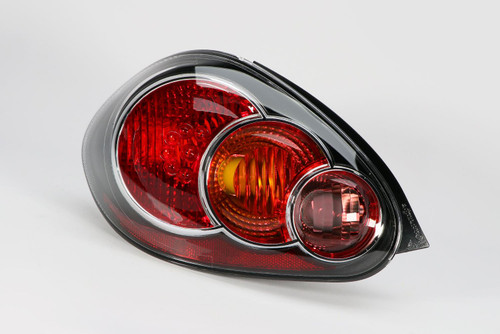Rear light left black Toyota Aygo 09-14
