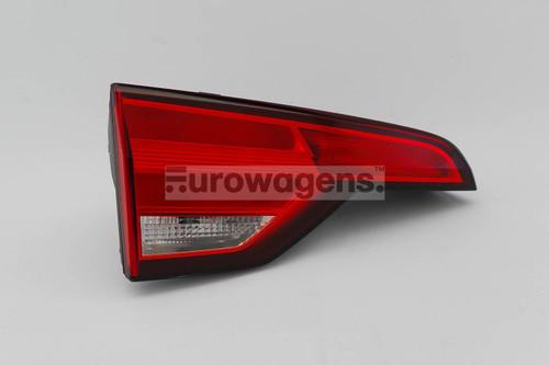 Rear light left inner Audi A4 B9 15-19 Estate OEM