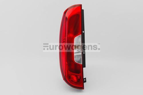 Rear light left Fiat Doblo 14-17 1 door