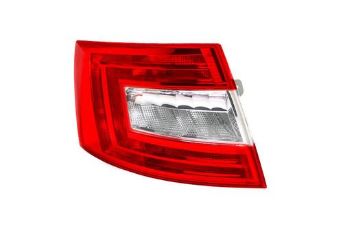 Rear light left Skoda Octavia 13-16 Hatchback