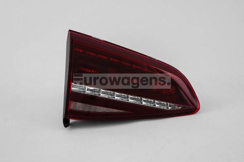 Rear light left LED smoked inner VW Golf MK7 R 12-16