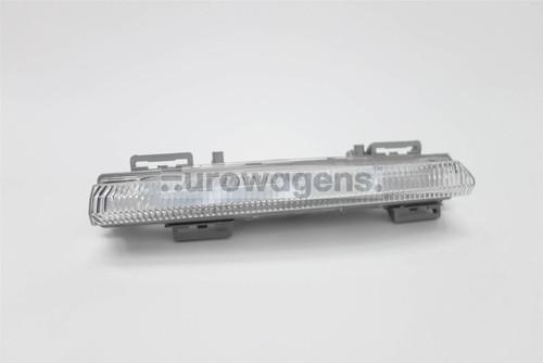 Front bumper LED DRL light left Mercedes-Benz C Class C204 11-15 Coupe
