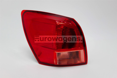 Rear light left Nissan Qashqai 07-10