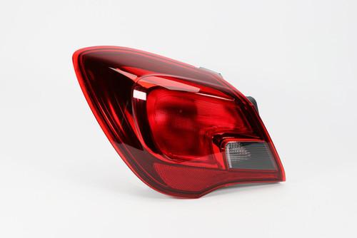 Rear light left Vauxhall Corsa E 15-19 3 Door