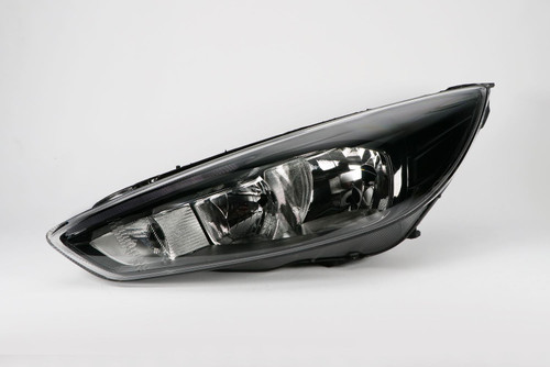 Headlight left black LED DRL Ford Focus MK3 14-17 Hella
