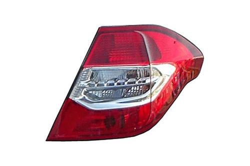Rear light right Citroen C4 10-14