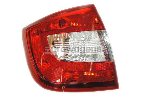 Rear light left Skoda Rapid 12-17 Hatchback