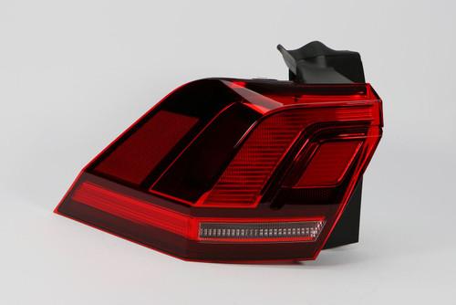Rear light left red LED VW Tiguan 16-18