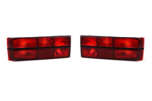 Rear lights set red VW Golf MK1 79-83