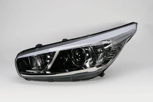 Headlight left Kia Ceed 12-16
