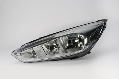 Headlight left chrome LED DRL Ford Focus MK3 14-17