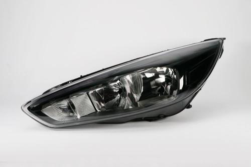 Headlight left black LED DRL Ford Focus MK3 14-17