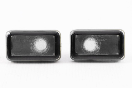 Side indicators set smoked Audi Cabriolet 91-00