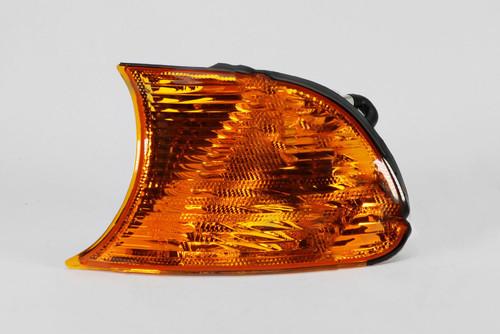 Front indicator left orange BMW 3 Series E46 98-01