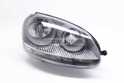 Headlight right grey VW Jetta MK3 05-11