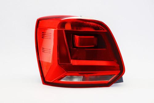 Rear light left VW Polo 14-17 MK8