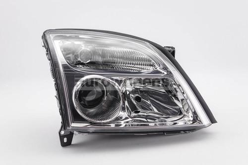 Headlight right chrome Vauxhall Vectra C 02-04