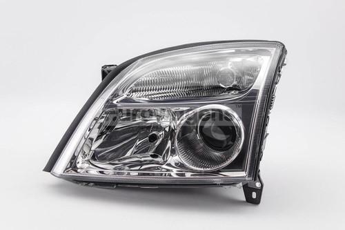 Headlight left chrome Vauxhall Vectra C 02-04