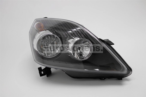 Headlight right black Vauxhall Zafira 05-08
