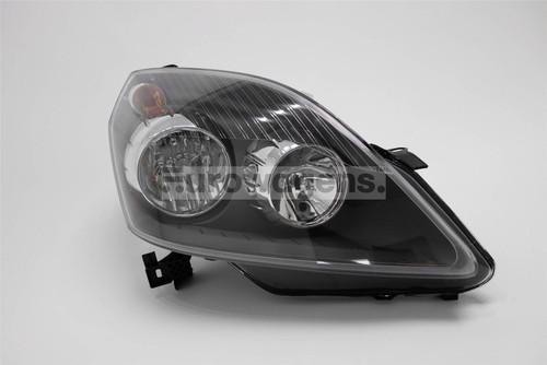 Headlight right black Vauxhall Zafira 05-08