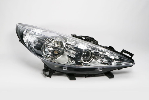 Headlight right with fog light Peugeot 207 06-12
