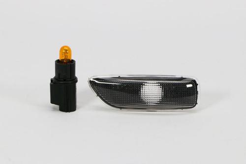 Side indicator left black Volvo V70 00-04