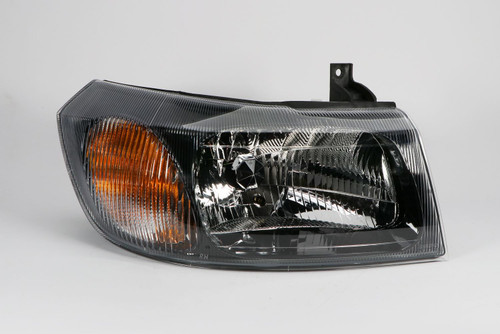 Headlight right black Ford Transit 00-06
