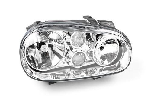 Headlight right with fog light VW Golf MK4 98-03