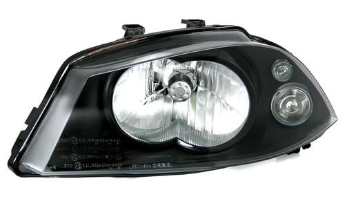 Headlight left single reflector Seat Ibiza 02-08