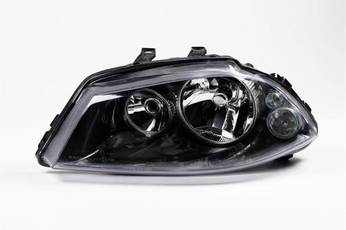 Headlight left twin reflector Seat Ibiza 02-08