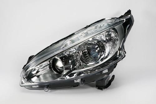 Headlight left LED DRL Peugeot 208 12-15