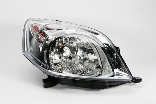 Headlight right Fiat Qubo 08-18