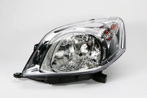 Headlight left Fiat Qubo 08-18