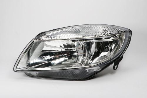 Headlight left Skoda Roomster 06-09