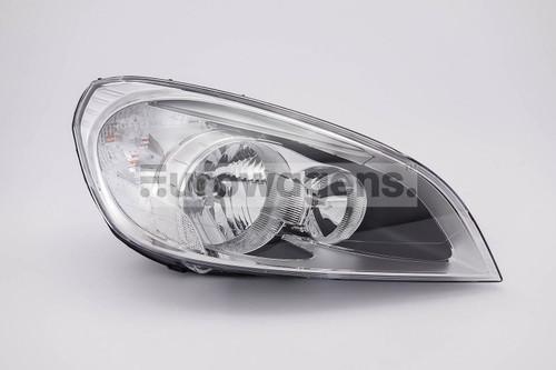 Headlight right LED DRL Volvo S60 10-12