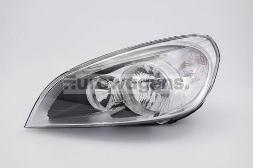 Headlight left LED DRL Volvo S60 10-12