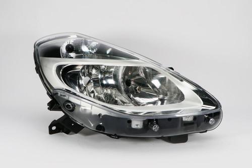 Headlight right chrome Renault Clio MK3 09-11