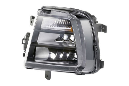 Front fog light DRL left VW Scirocco 14-